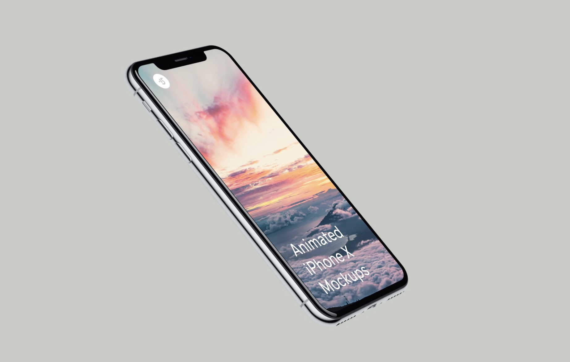 4k Looped Iphone X Mockups For After Effects