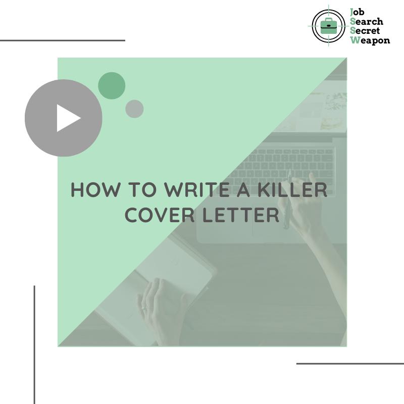 Cover Letter 5 Golden Rules To A Killer Cover Letter