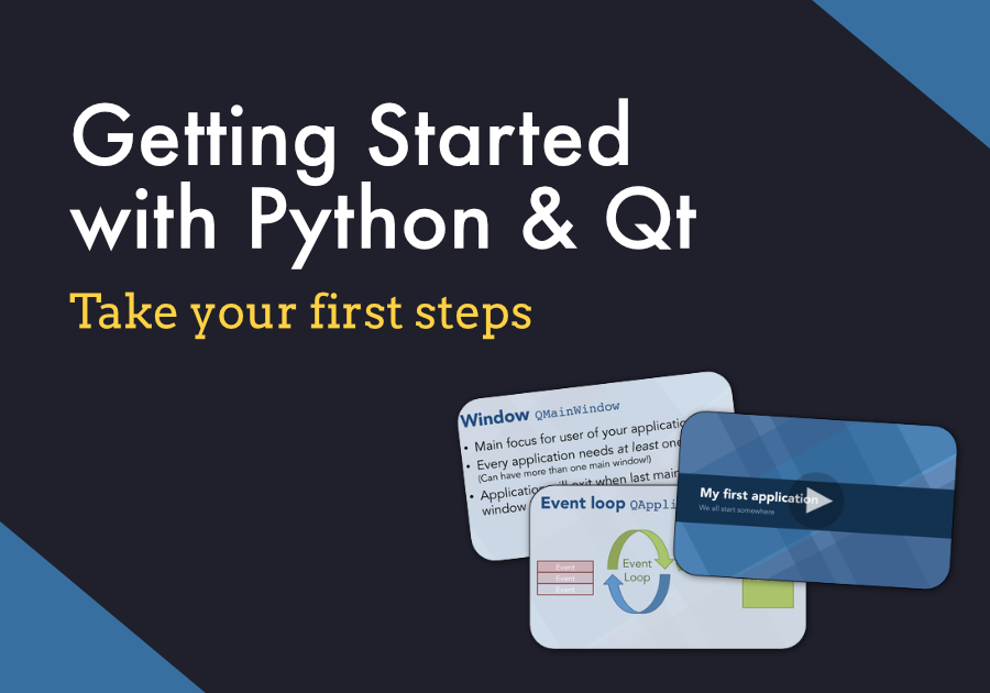 Getting started with Python & Qt