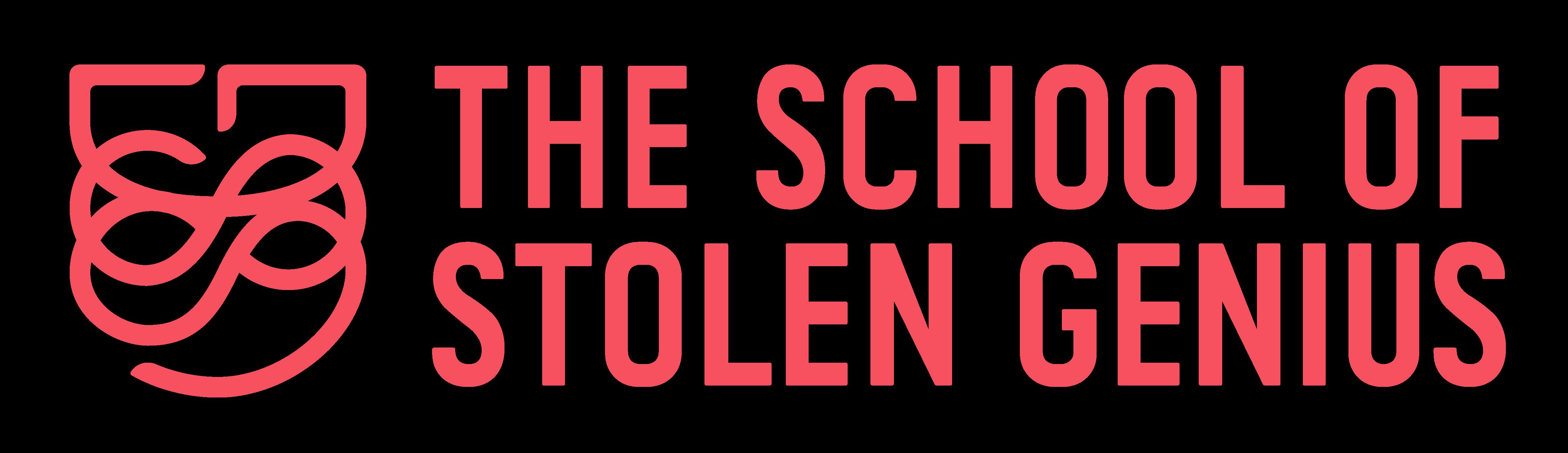The School of Stolen Genius