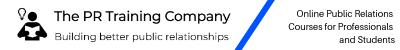 The PR Training Company