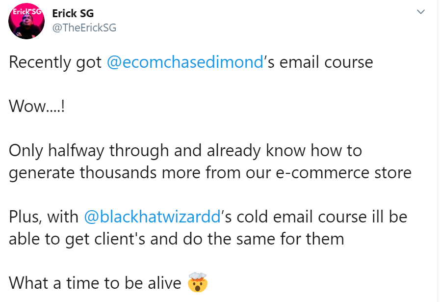 Chase Dimond – Ecommerce Email Marketing d2e337a4f6900f8d0798c596eb0607a8e0c2fbddb6a7ab7afcd60009c119d4c7