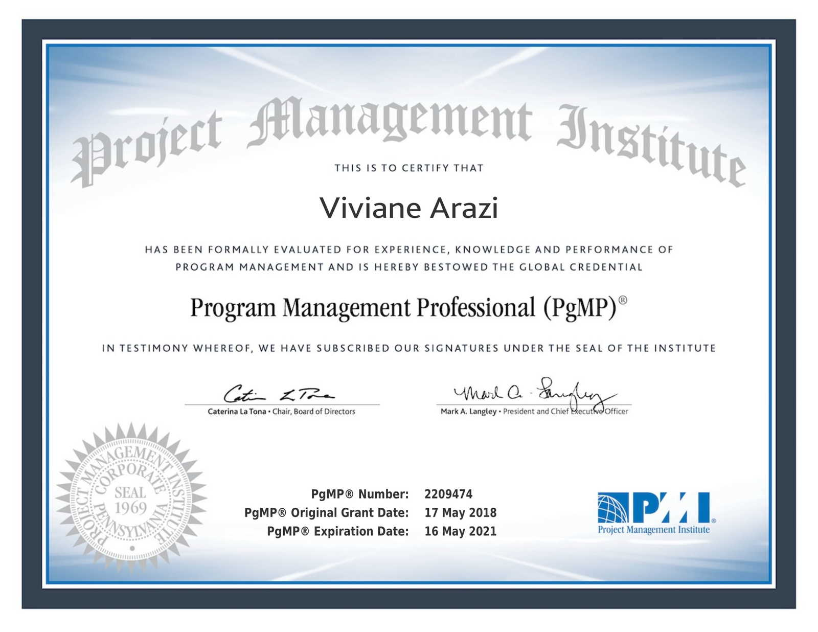 Program And Project Management Mentoring With Viviane Arazi