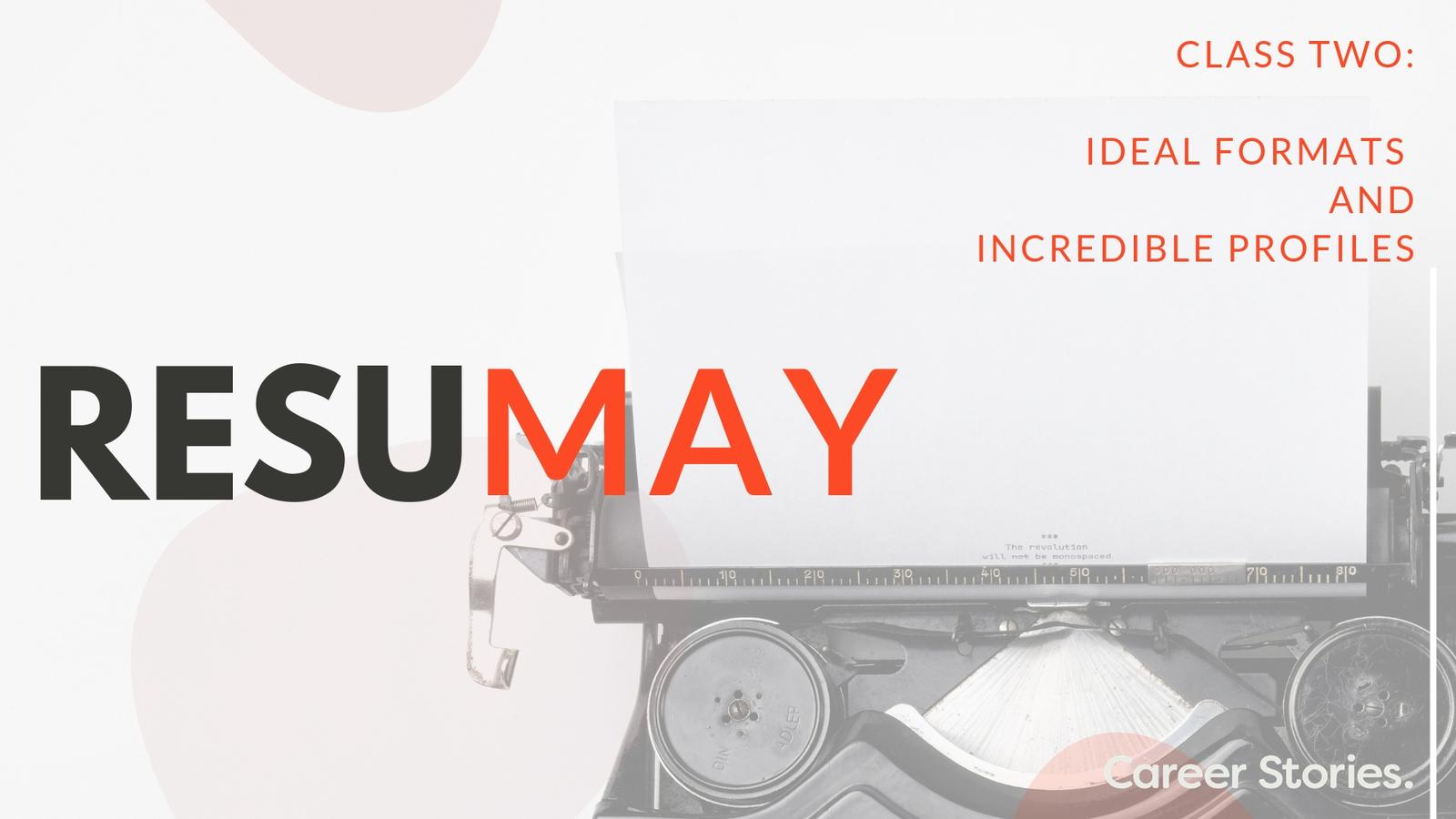 the resumay program