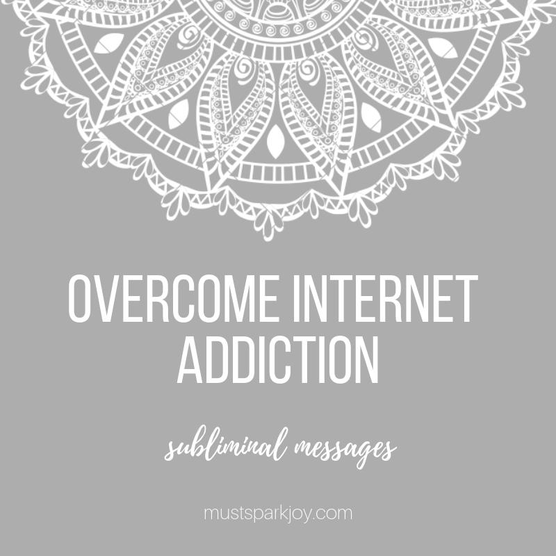 Subliminal Audio MP3: Overcome Internet Addiction - 528 Hz