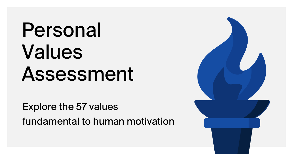Discover Your Values - Personal Values Assessment
