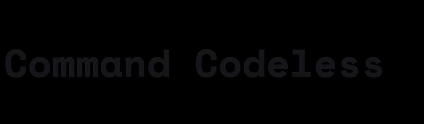 Command Codeless